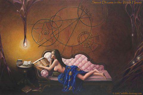 マスターズ・オブ・ホラー#2 「魔女の棲む館」 – H. P. Lovecraft's Dreams in the Witch-House –