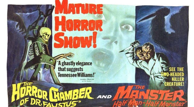 『双頭の殺人鬼』(1959) - The Manster –