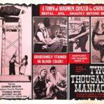 『2000人の狂人』(1964) - Two Thousand Maniacs! –