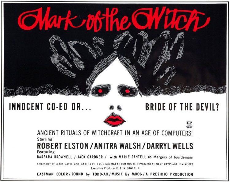 『エコエコアラディア ウィッチ・マーク』(1970) - Mark of the Witch –