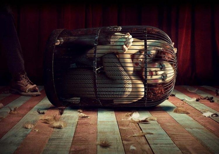 「アメリカン・ホラー・ストーリー:怪奇劇場」(TV/2014~2015) - American Horror Story: Freakshow (Season 4)