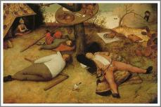 brueghel「怠け者の天国」
